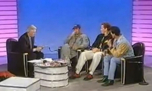 Arnold, Stallone, and Willis Interview - 1992 Image