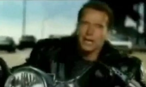 Arnold With Jackie Chan Anti Piracy PSA