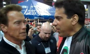 Chat with Lou Ferrigno at 2011 Arnold Classic