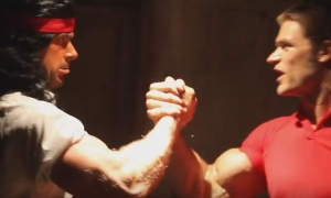 Arnold vs. Stallone Epic Rap Battle