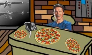 Arnold's Pizza Shop
