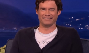 Bill Hader Deep Fake on Conan O'Brian