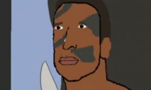 Animated Scene Between Bennett and John