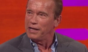 Graham Norton Show - Arnold Impersonations Abound
