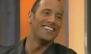 The Rock Impersonates Arnold
