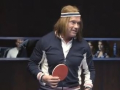 Arnold Ping Pong - 2014 Super Bowl XLVIII Commercial Image
