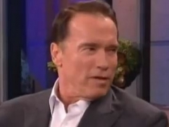 Leno Interview - 2013 - The Last Stand Promo